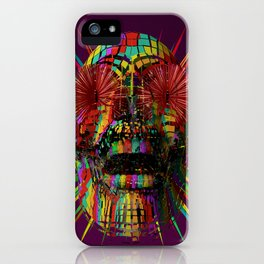 PzySkull iPhone Case