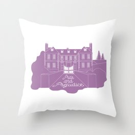 Jane Austen - Pride and Prejudice, Longbourn Throw Pillow