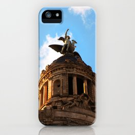 Touching the sky - Barcelona iPhone Case