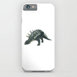 Ankylosaurus Dinosaur iPhone Case