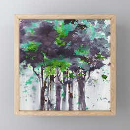 Song Of The Trees 9i by Kathy Morton Stanion Framed Mini Art Print
