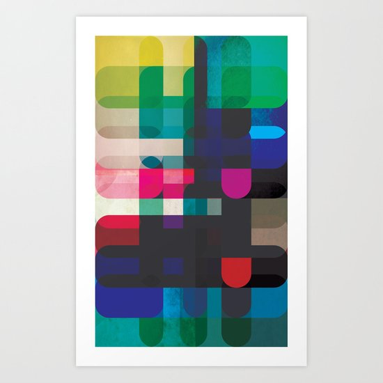 Circleton Art Print