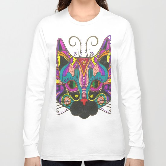 Cat Style Long Sleeve T-shirt