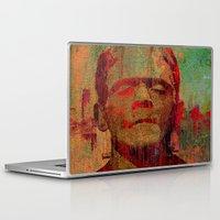 frankenstein Laptop & iPad Skins featuring frankenstein by Ganech joe