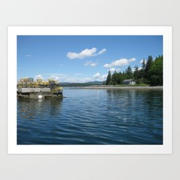 Boating Art Print