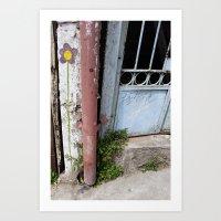 chile Art Prints featuring Chile by Lauren Ellis