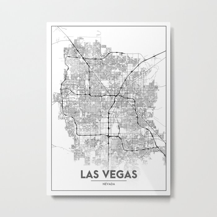 Minimal City Maps - Map Of Las Vegas, Nevada, United States Metal Print on nevada on a us map, state of nevada map, san francisco map, lake mead nevada map, grand canyon nevada map, clark county nevada map, arizona map, pahrump nevada map, anthem nevada map, usa map, nevada cities map, reno map, henderson nevada map, columbus ohio map, phoenix map, united states map, laughlin nevada map, area 51 nevada map, california nevada map, mojave desert nevada map,