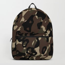 Camouflage Abstract Backpack