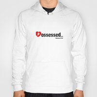 three of the possessed Hoodies featuring Possessed by EvangeLines Clothing