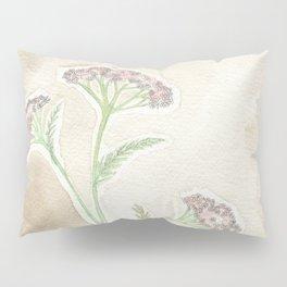 Pink Yarrow Pillow Sham