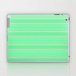 Mint Green Abstract XV Laptop & iPad Skin