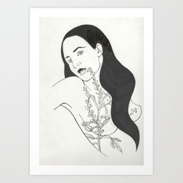 Tattoo Illustration Art Print