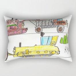 Construction Frenzy Rectangular Pillow