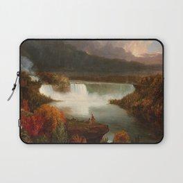 Distant View of Niagara Falls,1830, Thomas Cole Laptop Sleeve