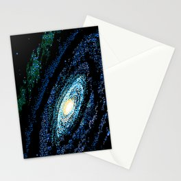 SWIRLING GALAXY Stationery Cards