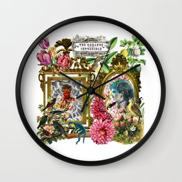 Romance with the Impossible Wall Clock