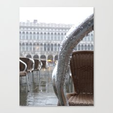 St Mark's Square after rain Canvas Print