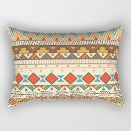 Aztec pattern 03 Rectangular Pillow