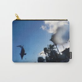 Dolphin Splash Carry-All Pouch