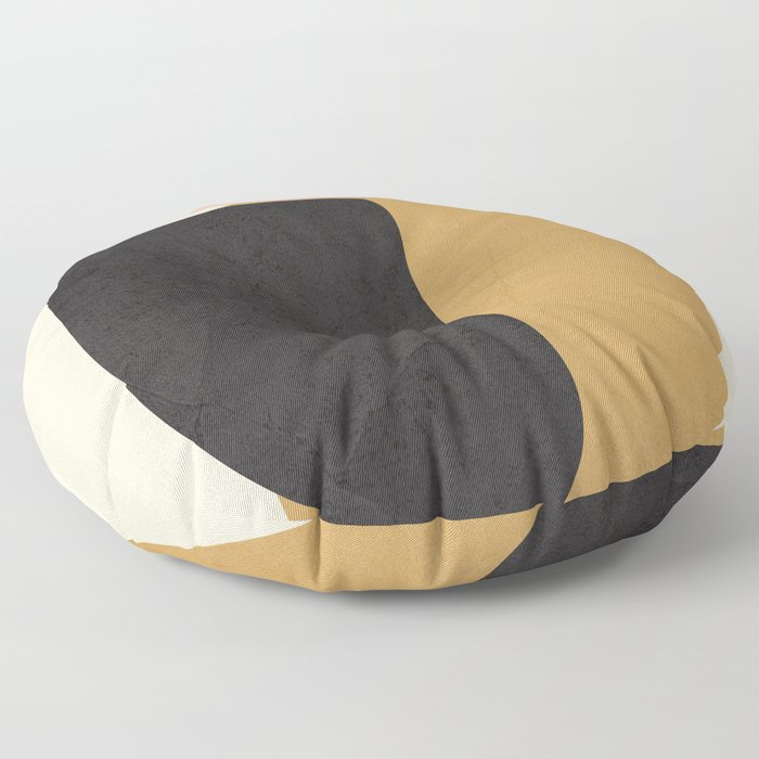 Abstract Shapes 34 Floor Pillow