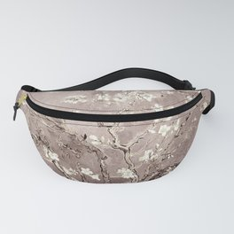 Van Gogh Almond Blossoms Beige Taupe Fanny Pack