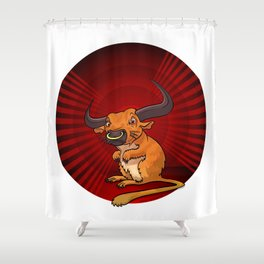 Mutant Zoo - Gerbull Shower Curtain
