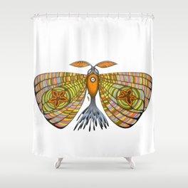 circus moth (ORIGINAL SOLD). Shower Curtain