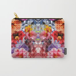 Crystal Floral Carry-All Pouch