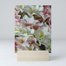 Pastel lilies Mini Art Print