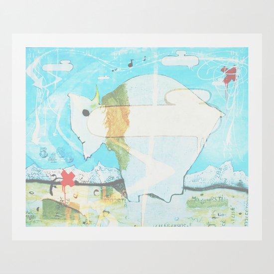 Buffalo 1 Art Print