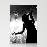 hayley williams Stationery Cards featuring Hayley Williams #2 by Ethan Luck