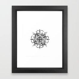 Mandala #6 Framed Art Print