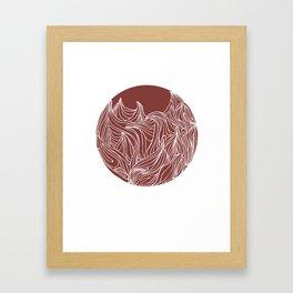 Static Movement  Framed Art Print