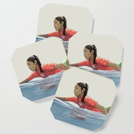 Roxy surf girl Coaster