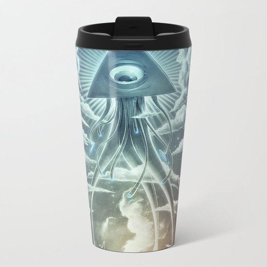 War Of The Worlds I. Metal Travel Mug