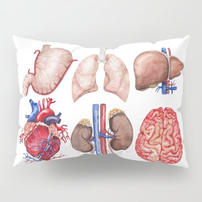 Watercolor organs Pillow Sham