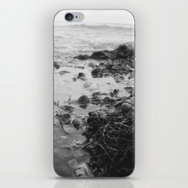 Black and White Sea iPhone Skin
