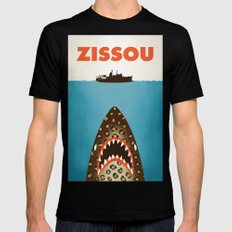 Zissou Mens Fitted Tee MEDIUM Black