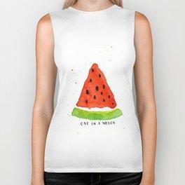 One in a melon Biker Tank