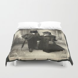 Mr Wolf & Lil Red Duvet Cover