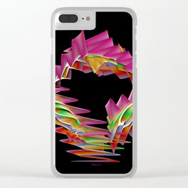 Ribbon Candy Clear iPhone Case