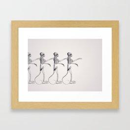 Hey Macarena! Framed Art Print