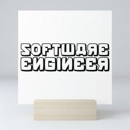 Software Engineer Mini Art Print