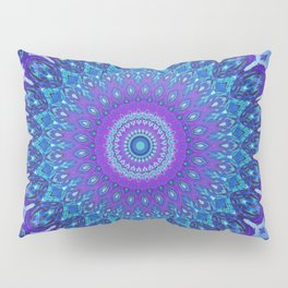 Lights of Avatar Mandala Art Pillow Sham