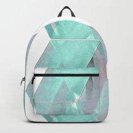 quad crystals Backpack