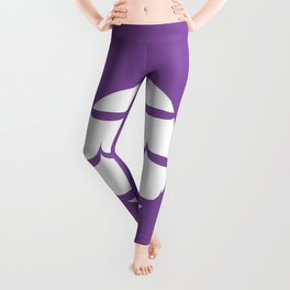 """Party Ring"" Biscuit poster Leggings"