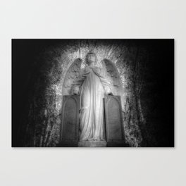 Angel Watching Over You Canvas Print