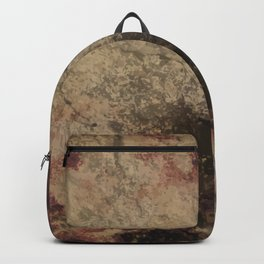 Grunge wall texture Backpack