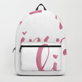 Live to inspire Backpack