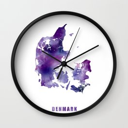 Denmark Wall Clock